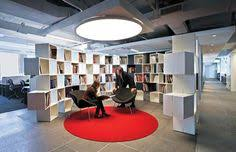 Group Ogilvy Office Love The Red Circular Rug And Matching Light Above Ogilvy U0026 Mather New York Group Office P