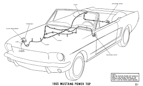 mustang wiring diagrams average joe restoration 1965j 1965 mustang power top