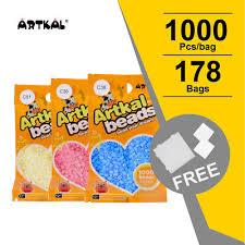 Artkal 178 Colors C 2 6mm Mini Beads 1000pcs Bag Perler Hama Beads Diy Set Ebay