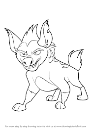 Small Picture Learn How to Draw Janja from The Lion Guard The Lion Guard Step