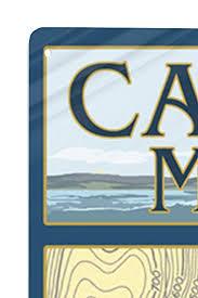 Amazon Com Camden Maine Nautical Chart 24x36 Signed