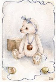 Pin by Sonja Peters on Illustrations | Bear art, Bear paintings, Sweet  drawings
