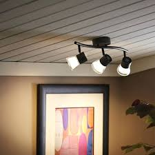 track lighting without wiring. Overhead Lighting Without Wiring Decide Track Location Adding  . H