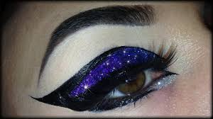 spring make up tutorial exotic y colorful and glittery cat eye trucco primaverile you