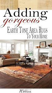 tone on rug earth area rugs modern design