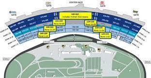 Daytona 500 Seating Chart 2019 24 Abundant Darlington Speedway Seating Chart