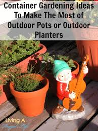 outdoor gardening. Clay Colored Outdoor Pots And Planters For Container Gardening |