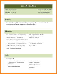12 Best Cv Format For Freshers Letmenatalya