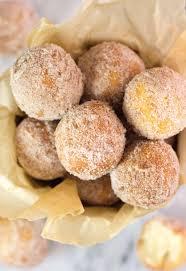 easy homemade fried donut holes no yeast sugarspunrun