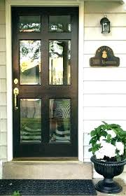 front door laminated glass panels with frosted doors
