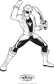 Power Rangers Colouring Pages Printable Coloring Samurai To Print