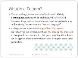 What Is Design Pattern Magnificent Software Engineering Design Patterns Introduction Ppt Video