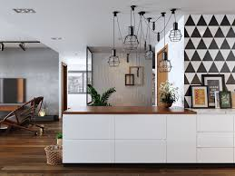 the kitchen on closer inspection ties in the rest of the room a on scandinavian designs wall art with world of interiors 5 simple and achievable scandinavian apartment