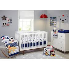 disney 4 piece baby toddler lets go mickey mouse pluto children crib bedding set 1 of 5only 3 available
