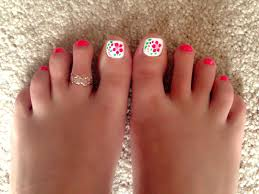 Cute Pedicure Designs Cute Summer Pedicure Toe Nail Color Summer Toe Nails Toe