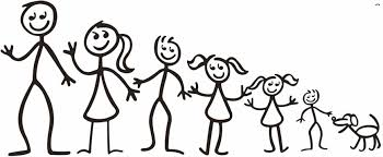 Image result for stick figure family smiles
