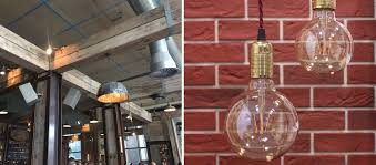 warehouse style lighting. Industrial LED Filament Bulbs Warehouse Style Lighting P
