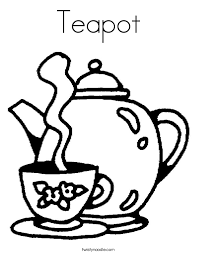 Small Picture Teapot Coloring Page Twisty Noodle
