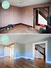 Open Ruimtes Maken Thuis Renovaties Behang Verwijderen