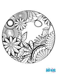 Easy Animal Mandala Coloring Pages With Hearts New Free Printable