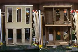 doll house under construction