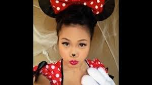 minnie mouse costume makeup for kids 90193 usbdata