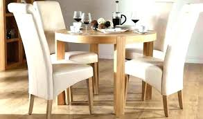 solid wood kitchen table 4 chairs oak and small shabby chic round dining set for