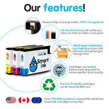 Dana Design Bridger Pack Smart Ink Cartridge Replacement For Hp 932 Xl 933 Xl 3 Pack Compatible