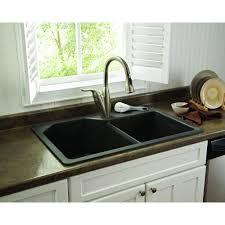 glacier bay dual mount granite 33 in 1 hole double basin kitchen impressive glacier bay kitchen