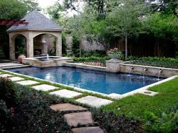 pool landscaping ideas on a budget - Google Search. Small Backyard ...