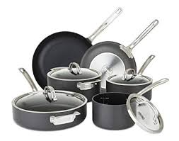viking cookware set. Simple Set Viking 400519910 Hard Anodized Nonstick Cookware Set 10 Piece Gray On Set