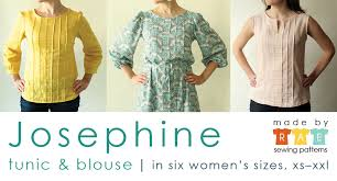 Blouse Sewing Pattern Custom Josephine Sewing Pattern Is Here Made By Rae