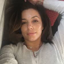natural beauty eva longoria shed her usual glam to share this bare faced selfie with
