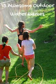 outdoor water games for kids. 15 Awesome Outdoor Water Games From Playpartypin.com To Beat The Heat Without A Pool For Kids O