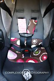 custom made baby car seat soaker pad and shoulder straps