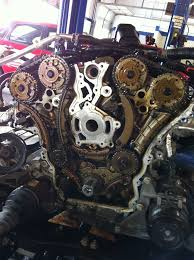 Chevy Traverse And GMC Acadia Timing Chain Problems- Pictures