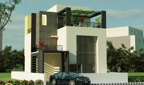 Modern home building designs creating stylish
