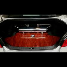 Image result for wood floor trunks car