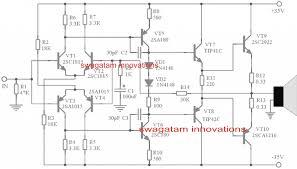 transistor audio power amplifier circuit diagram amplifiercircuit simple 150 watt amplifier circuit using transistors homemade transistor audio power amplifier circuit diagram amplifiercircuit