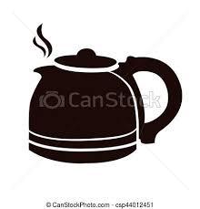 coffee pot silhouette. Interesting Coffee Isolated Coffee Pot  Csp44012451 On Coffee Pot Silhouette L