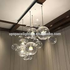 decorative pendant lighting. Modern LED Decorative Light Bolle Glass Chandelier Pendant Lighting N