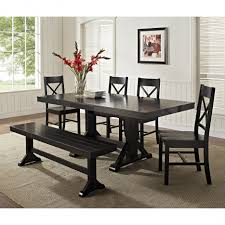 black kitchen table with bench. Full Size Of Kitchen:corner Bench Dining Table Breakfast Nook Set 5 Piece Black Kitchen With