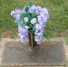 Ruby Rhodes Ray (1917-1987) - Find A Grave Memorial