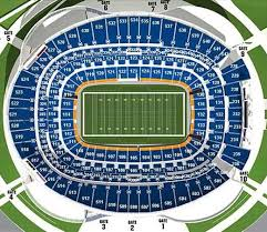 Denver Broncos Seating Chart Seat Views Tickpick