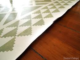 do s and don ts for painted linoleum rugs sawdust and