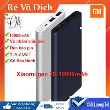 Nơi bán Sạc Dự Phòng - Sạc Dự Phòng Xiaomi Gen 2s 10000mAh Chuẩn Dung Lượng  rẻ nhất tháng 09/2021 - giá từ 339,000 ₫