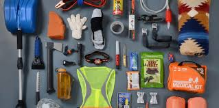 Image result for pics of winter survival kits for cars