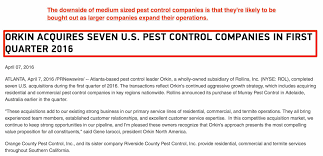 orkin flea treatment cost. Contemporary Flea Orkin Buys Smaller Exterminator Companies With Flea Treatment Cost