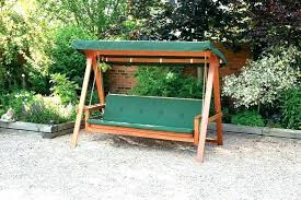 outdoor swing frame porch swing frame wood porch swing with frame free standing on a porch