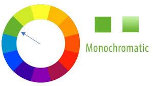 Hasil gambar untuk Warna Monochromatic